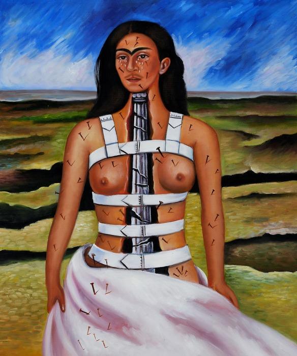 The Broken Column by Frida Kahlo OSA164